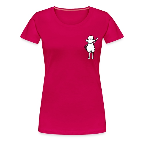 Girlie rosa_version 2 - Frauen Premium T-Shirt