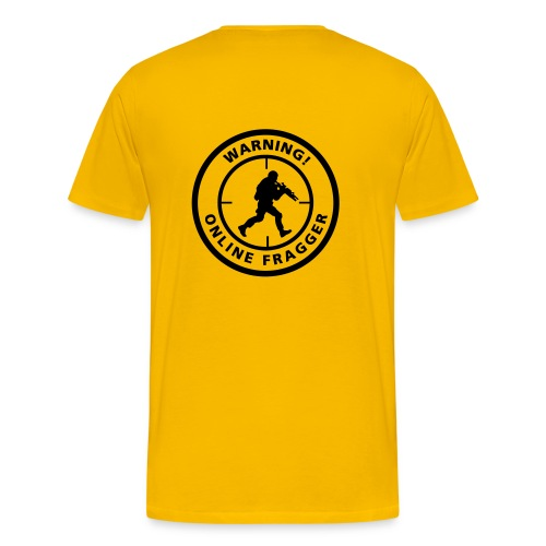 Online Fragger - Mannen Premium T-shirt