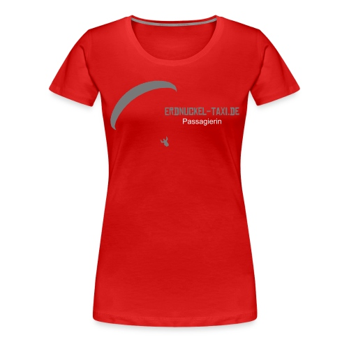 Passagierin-T-Shirt - Frauen Premium T-Shirt