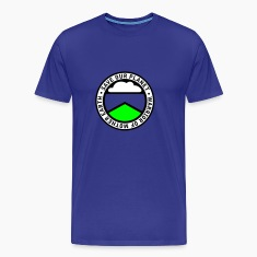 Royal blue earthwarriorgreen_3f Men's Tees