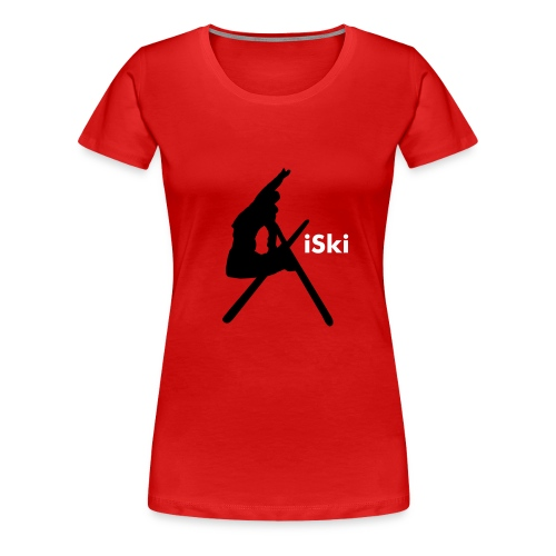 iski red women's - Women's Premium T-Shirt