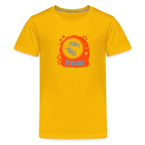 Sternzeichen Fische - Teenager Premium T-Shirt