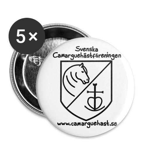 knappar - föreningslogga - Stora knappar 56 mm