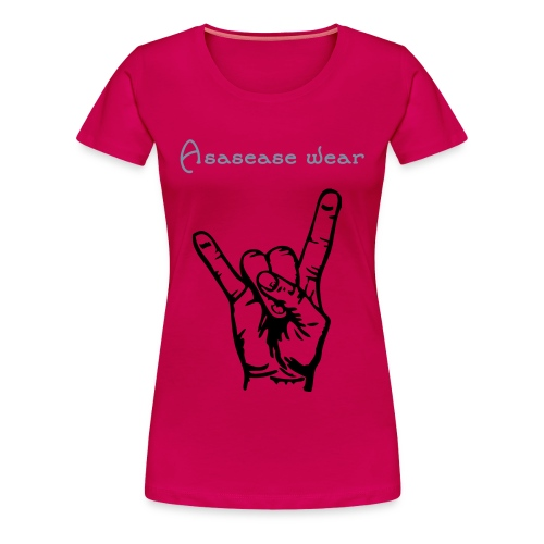 asasease hot girl - Women's Premium T-Shirt
