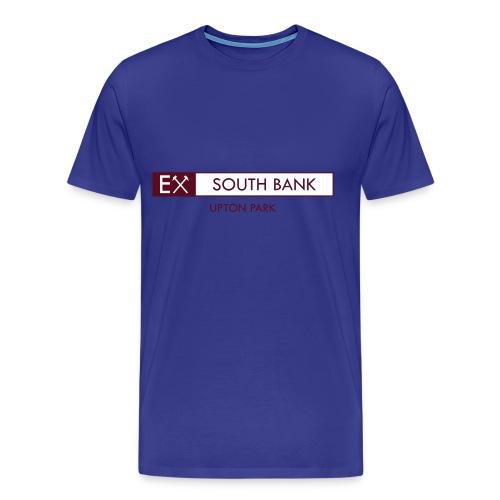 Ex - South Bank mens sky retro T-shirt - Men's Premium T-Shirt