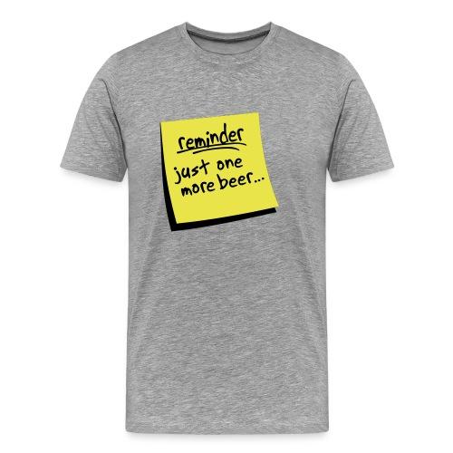 BEERO - POSTIT - Men's Premium T-Shirt