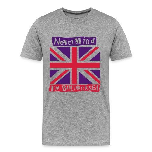 BEERO -BOLLOCKS - Men's Premium T-Shirt