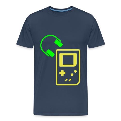 Gameboy music - T-shirt Premium Homme