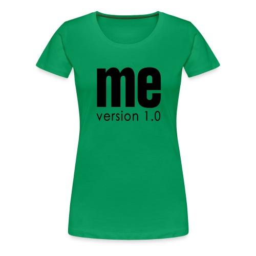 Me version Dame Grøn - Dame premium T-shirt