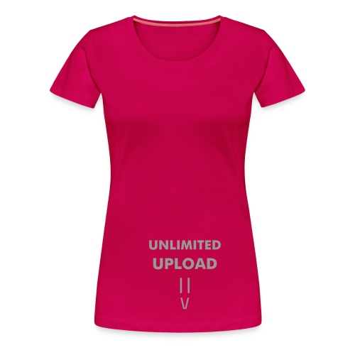Upload_Women - T-shirt Premium Femme