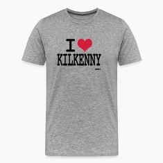 Ash i love kilkenny by wam Men's T-Shirts