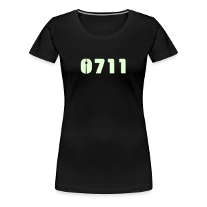 DAMEN SHIRT GLOW-IN-THE-DARK - Frauen Premium T-Shirt