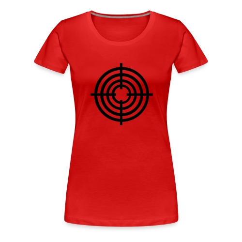 pris pour cible - T-shirt Premium Femme