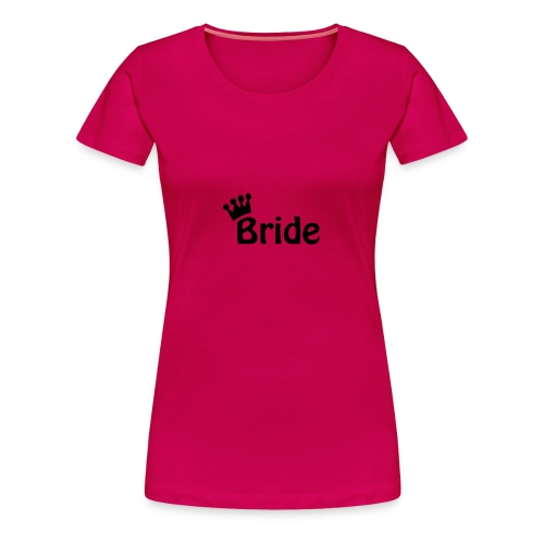 Bride (black) - Women's Premium T-Shirt
