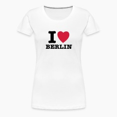 Vit I Love Berlin - I Heart Berlin T-shirts