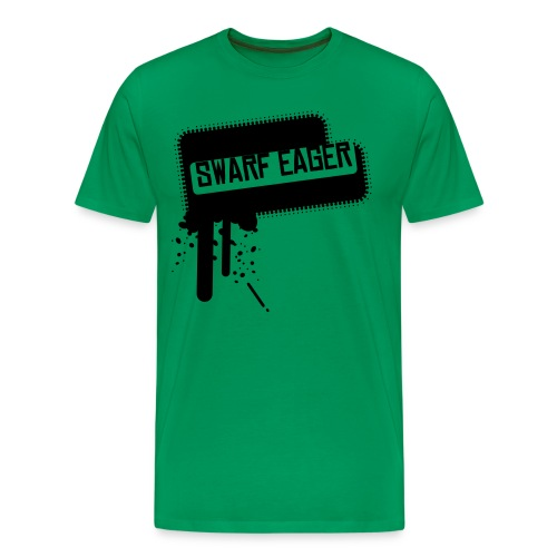 SWARF EAGER T - Men's Premium T-Shirt