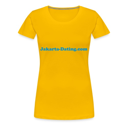 Jakarta Dating T-shirt female - Women's Premium T-Shirt