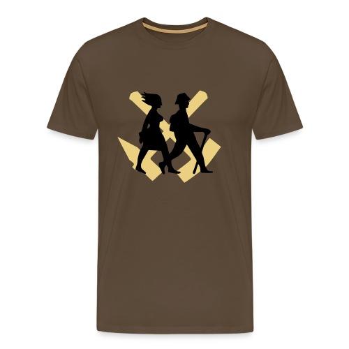 Wandern Ruhrgebiet - Männer Premium T-Shirt