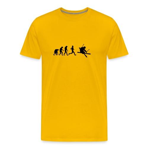 Evolution ski - T-shirt Premium Homme