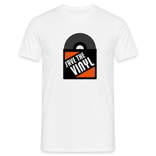 Save the vynil - T-shirt Homme