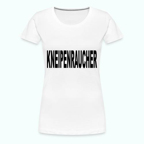 kneipenraucher - Women's Premium T-Shirt