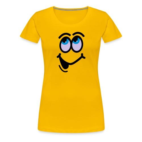 Le smiley - T-shirt Premium Femme