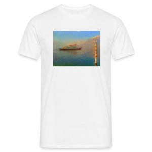 Lake Como ferry - Men's T-Shirt