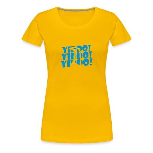 Yiddo / cockerel - Women's Premium T-Shirt