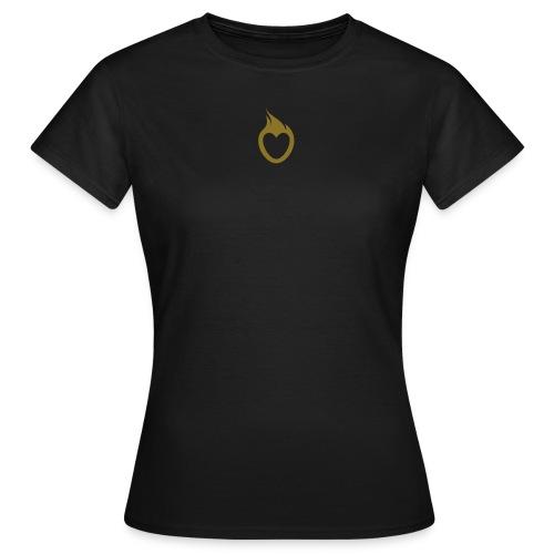 Frauen Girlieshirt klassisch braun - Frauen T-Shirt