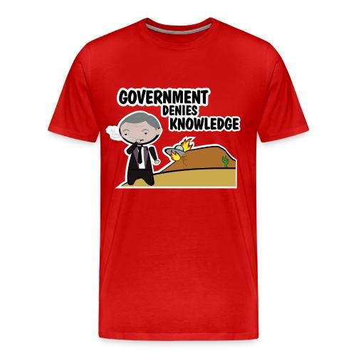 Camiseta Expediente X, El fumador - chico manga corta - Camiseta premium hombre