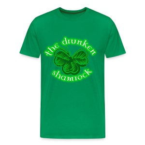 The Drunken Shamrock - Men's Premium T-Shirt