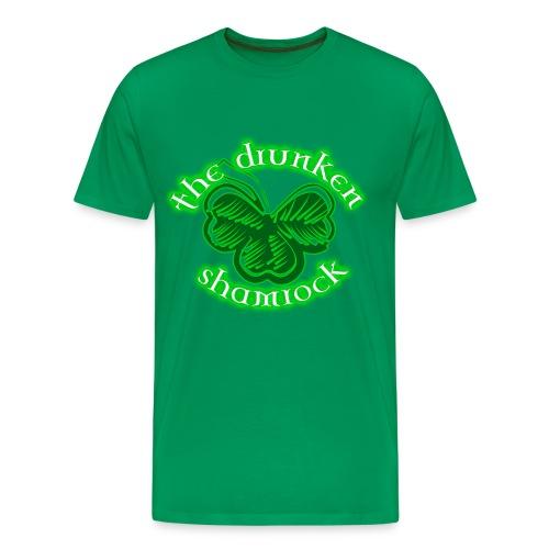 The Drunken Shamrock - Men's Premium T-Shirt