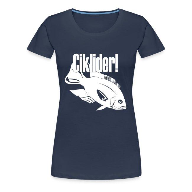 Ciklide-t-skjorte for jenter