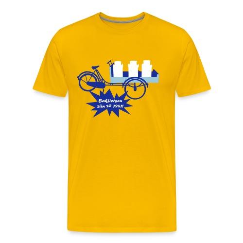 spreuken & quotes - bakfietsen - Mannen Premium T-shirt