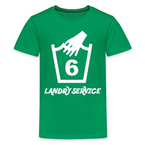Landry Service - Teenage Premium T-Shirt