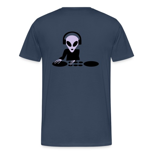 Ailen DJ - Premium-T-shirt herr