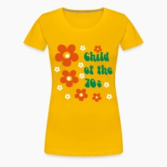 Yellow Child of the 70s Women's T-Shirts
