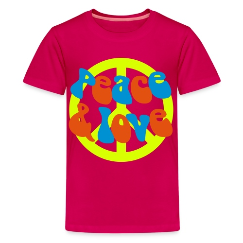 peace - Teenage Premium T-Shirt