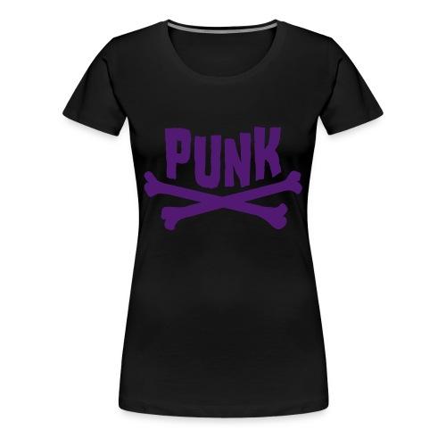 Punk - Vrouwen Premium T-shirt