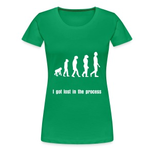 Awesome evolution tee - Women's Premium T-Shirt