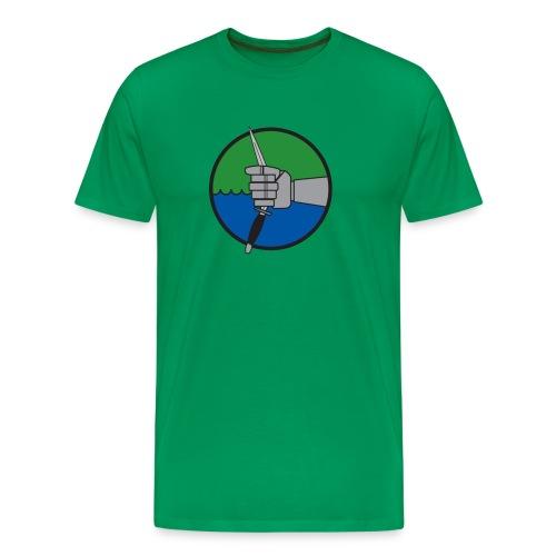 förbm3 grön - Premium-T-shirt herr