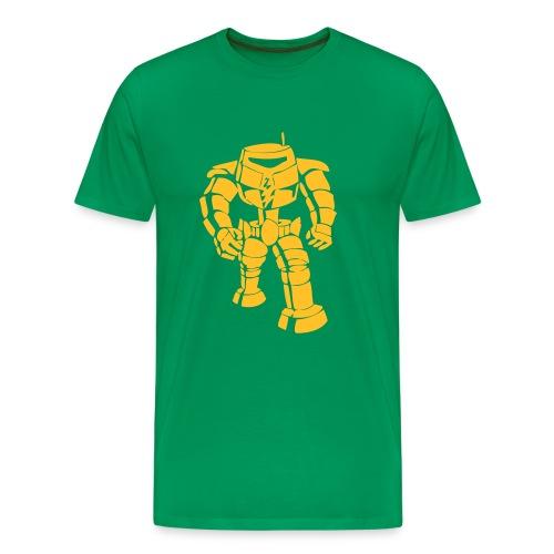 Camiseta robot man bot sheldon - serie BBT - Camiseta premium hombre