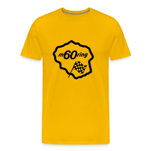 M60Ring - Race Track - Men's Premium T-Shirt