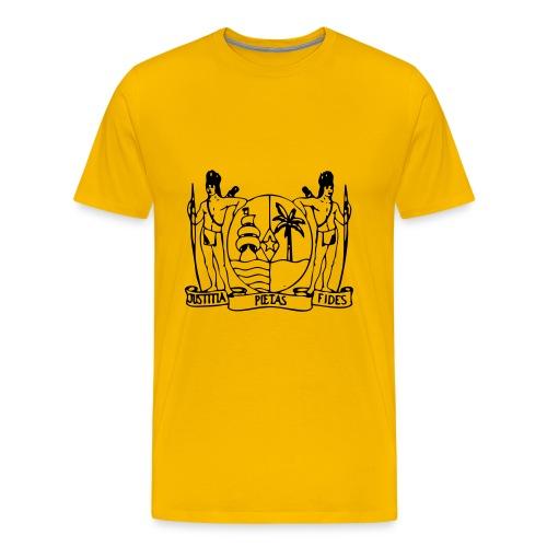 Wapen van Suriname Shirt - Mannen Premium T-shirt