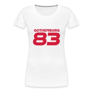 Gothenburg 83 - Women's Premium T-Shirt