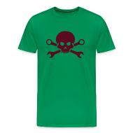 T-Shirts ~ Männer Premium T-Shirt ~ ts-wrencherskull