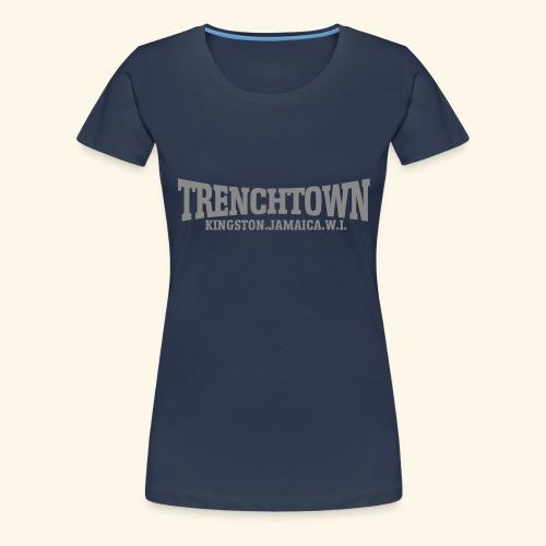TRENCHTOWN ARGENT - T-shirt Premium Femme