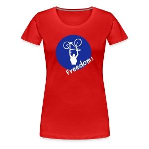 RWBP? Nein Danke! girlie shirt stereo red - Frauen Premium T-Shirt