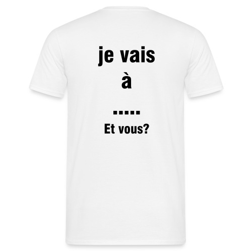 ma destination - T-shirt Homme