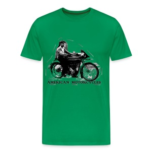 Vintage motorcycle - T-shirt Premium Homme
